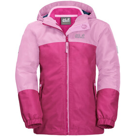 Jack Wolfskin B Iceland Giacca 3in1 Bambino, lilac